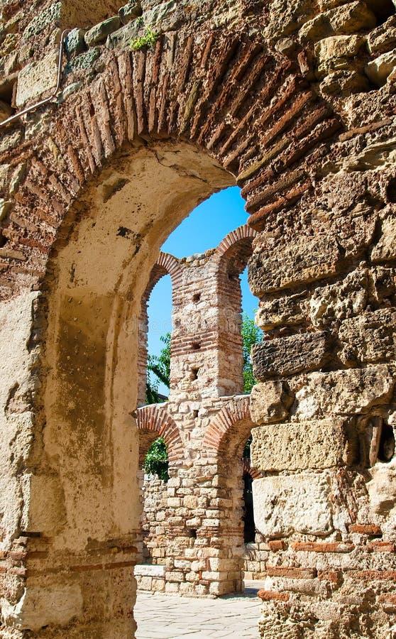 Colonna della chiesa della st Sophia fotografie stock