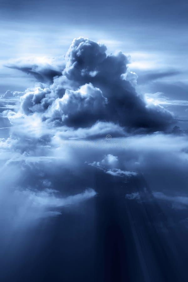 Colonna della nube immagine stock libera da diritti