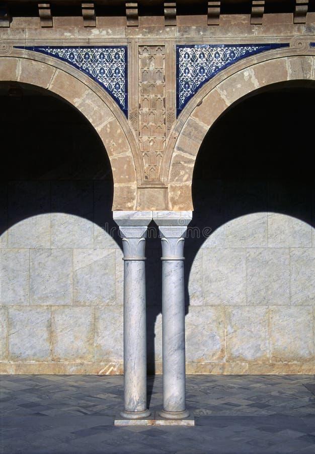 Colonna della Tunisia fotografia stock