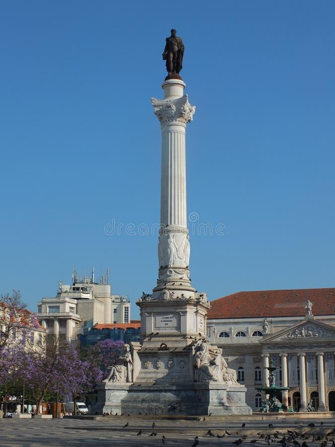 Download Colonna di Dom Pedro IV fotografia stock. Immagine di pedro - 55364974
