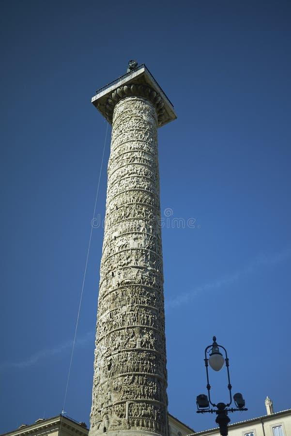 Colonna di Marcus Aurelius fotografie stock