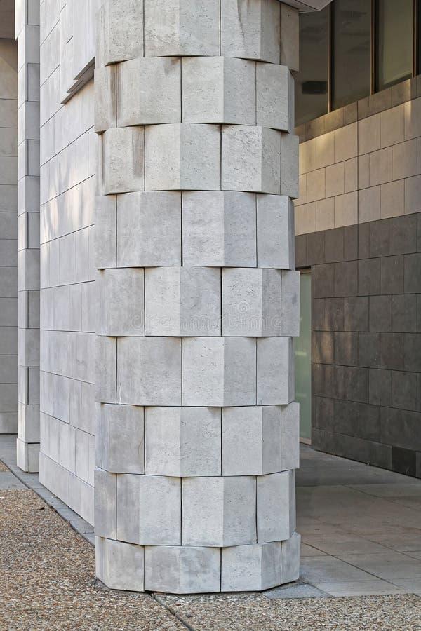 Colonna di marmo fotografie stock libere da diritti