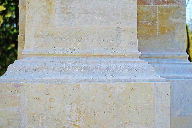 Colonna di marmo del tempio immagine stock libera da diritti