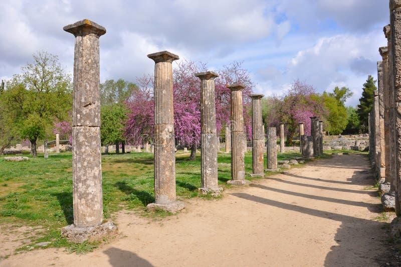 Colonna di Olympia fotografia stock libera da diritti