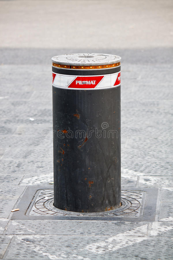 Colonna Di Ormeggio Automatica Immagine Stock
