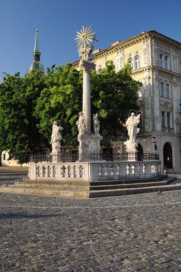 Colonna di peste di St.Trinity, fotografia stock