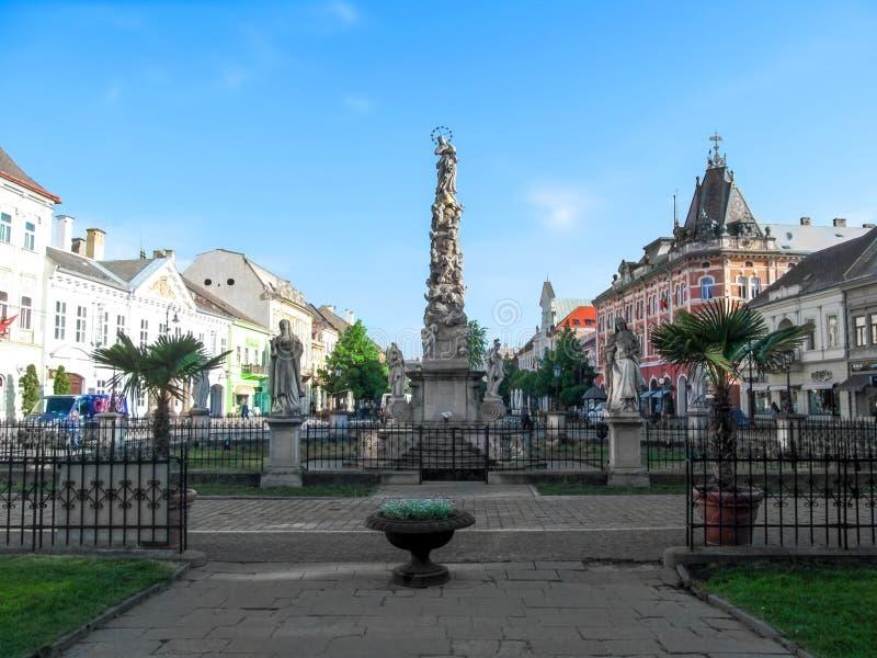 Colonna di peste a Kosice fotografia stock