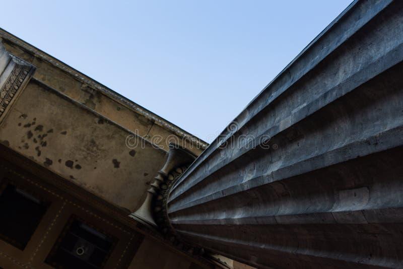 Colonna di vecchio museo a Berlino fotografie stock libere da diritti