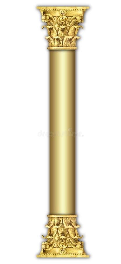 Colonna liscia lucida royalty illustrazione gratis