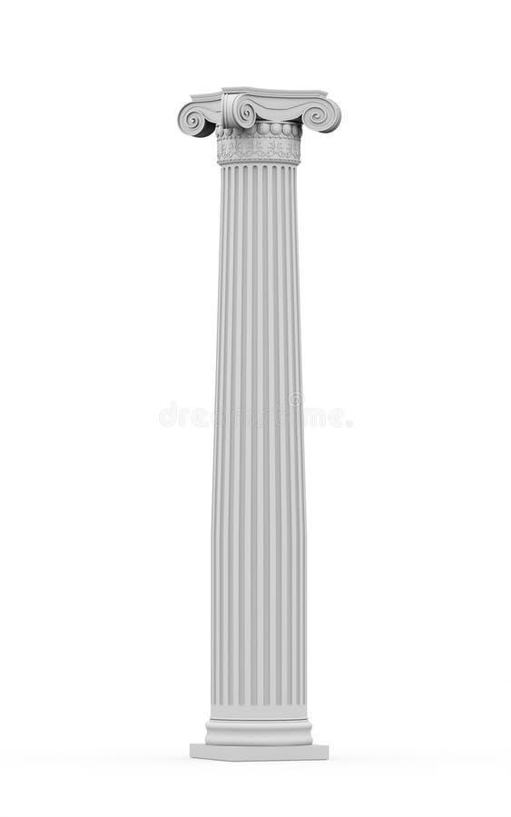 Colonna ornamentale storica  royalty illustrazione gratis