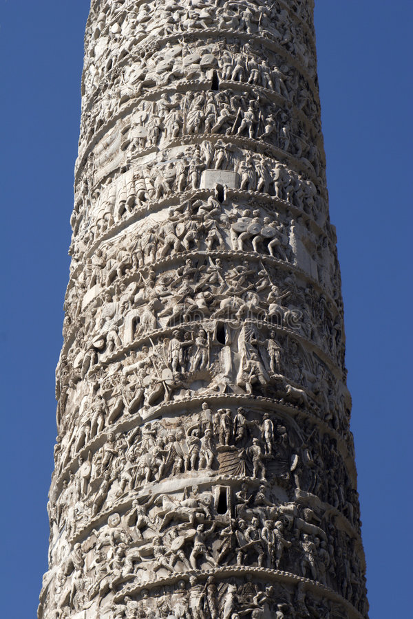 Colonna a Roma immagine stock