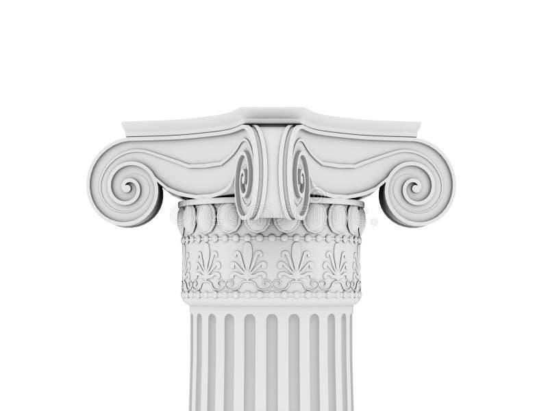 Colonna storica illustrazione di stock