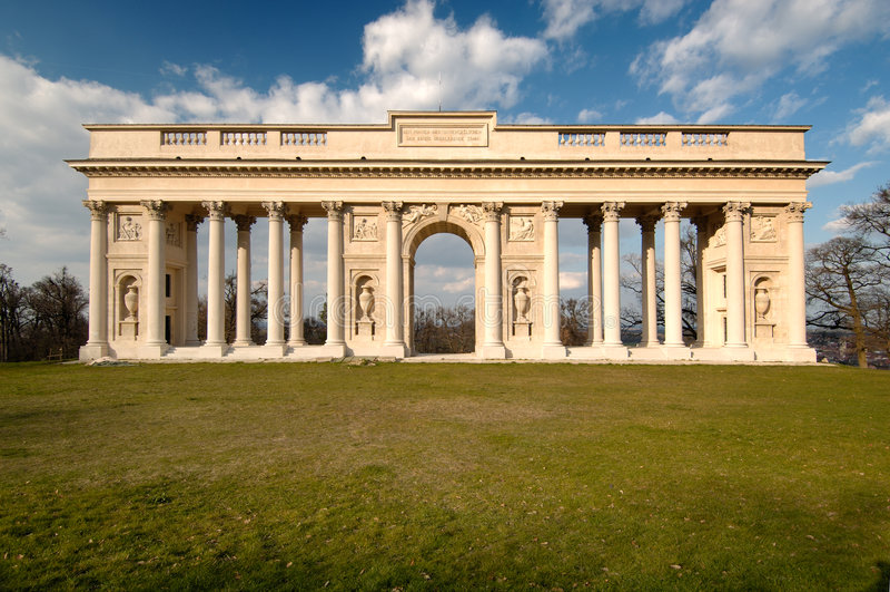 colonnade royaltyfri bild