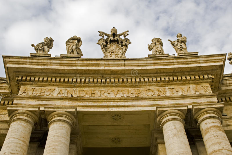 Download Colonnade stock image. Image of cathedral, square, colonnade - 27792293