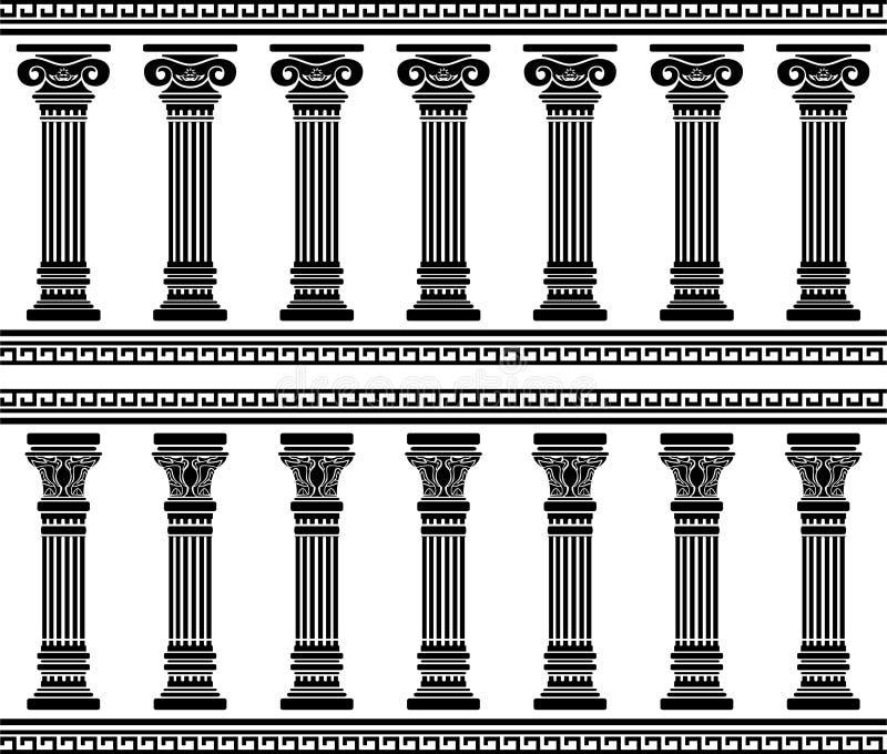 Download Colonnade stock illustration. Illustration of illustration - 28040593