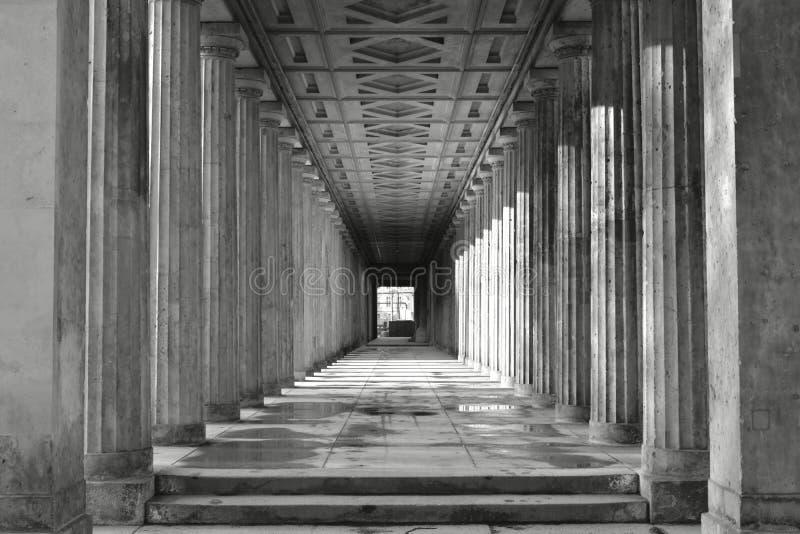 colonnade fotografía de archivo