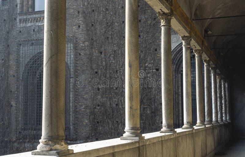 Download Colonnade Of The Castello Sforzesco Stock Photo - Image: 26993242