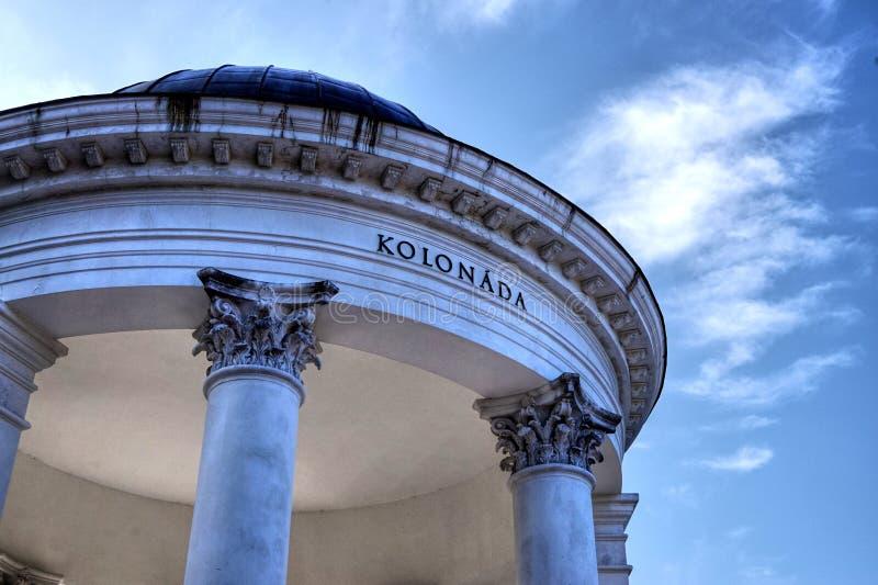 Colonnade fotografia stock