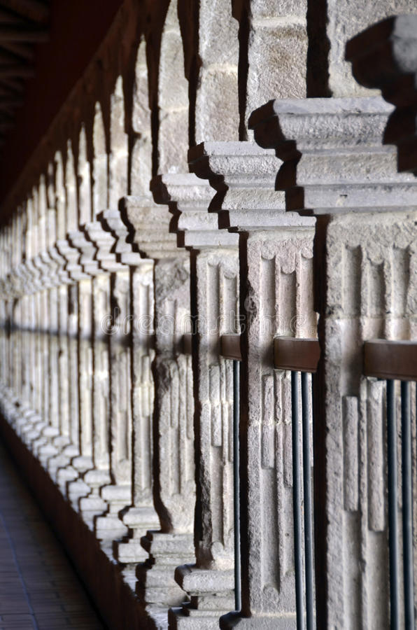 Colonnade - Row Of Columns - Archway Royalty Free Stock Photography