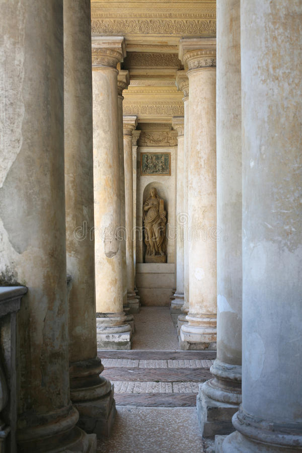 Colonnade royalty free stock photos