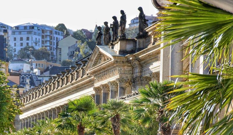 Colonnato di Karlovy Vary fotografie stock libere da diritti