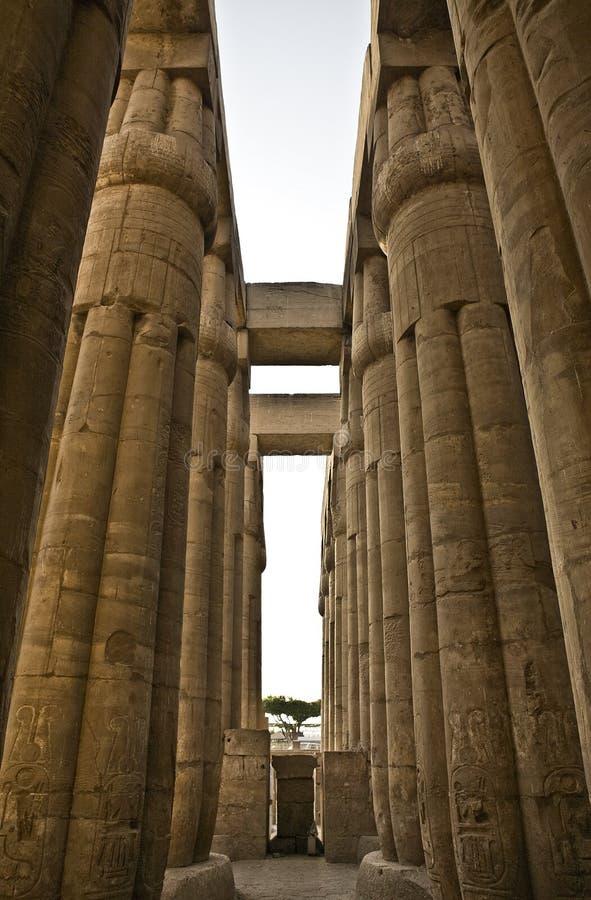 Colonne 5 di Luxor fotografie stock libere da diritti