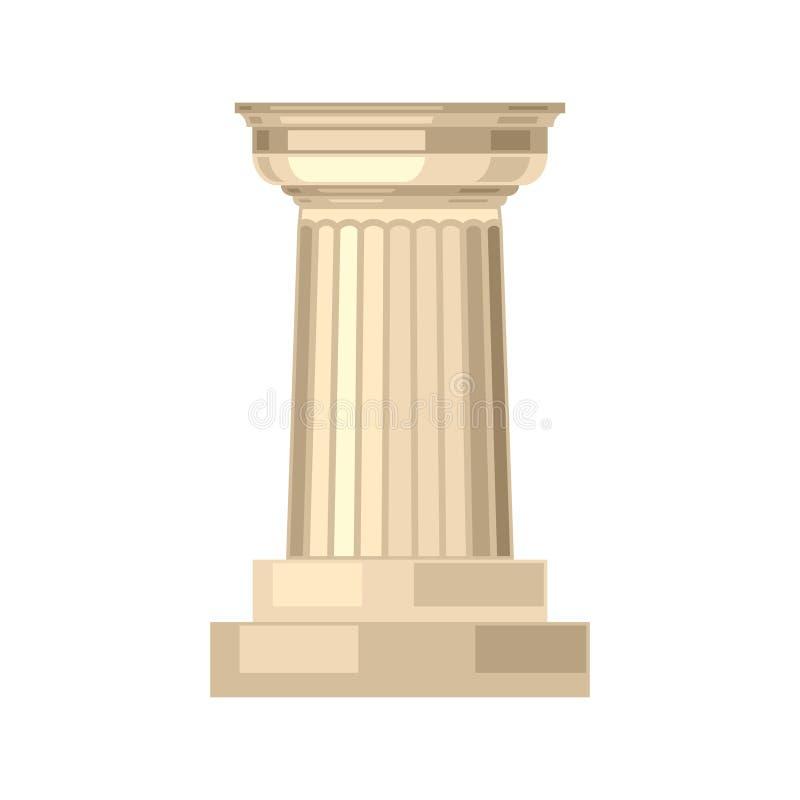 colonne de marbre grecque antique r aliste dorique. Black Bedroom Furniture Sets. Home Design Ideas