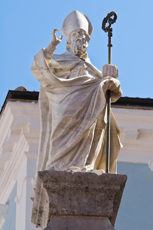 Colonne de St Biagio. Maratea. Basilicate. l'Italie. photographie stock libre de droits