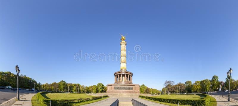 Colonne de victoire de Siegessaule en Berlin Germany photo stock