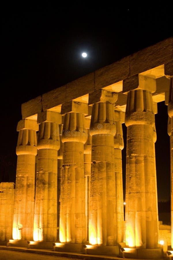 Colonne di Luxor fotografie stock