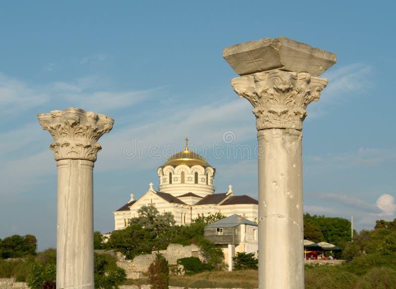 Download Colonne greche fotografia stock. Immagine di acropolis - 3144210