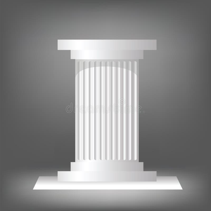 Colonne grecque illustration libre de droits