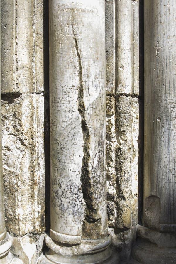 Colonnes - église de la tombe sainte photos libres de droits