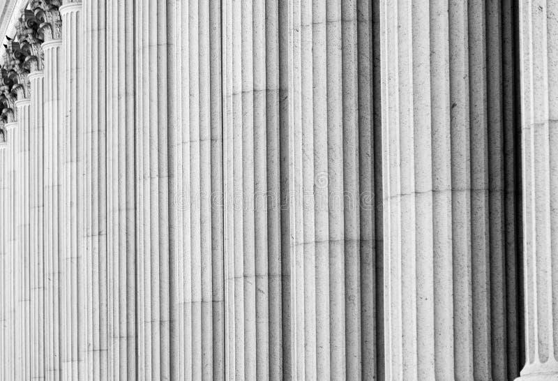Colonnes classiques images stock