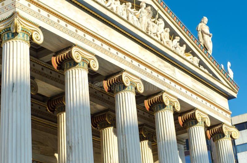 Download Colonnes D'académie D'Athènes Photo stock - Image du hellénique, apprendre: 87705436