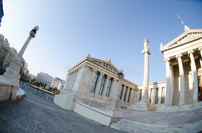 Download Colonnes D'académie D'Athènes Photo stock - Image du architecture, monument: 87706514