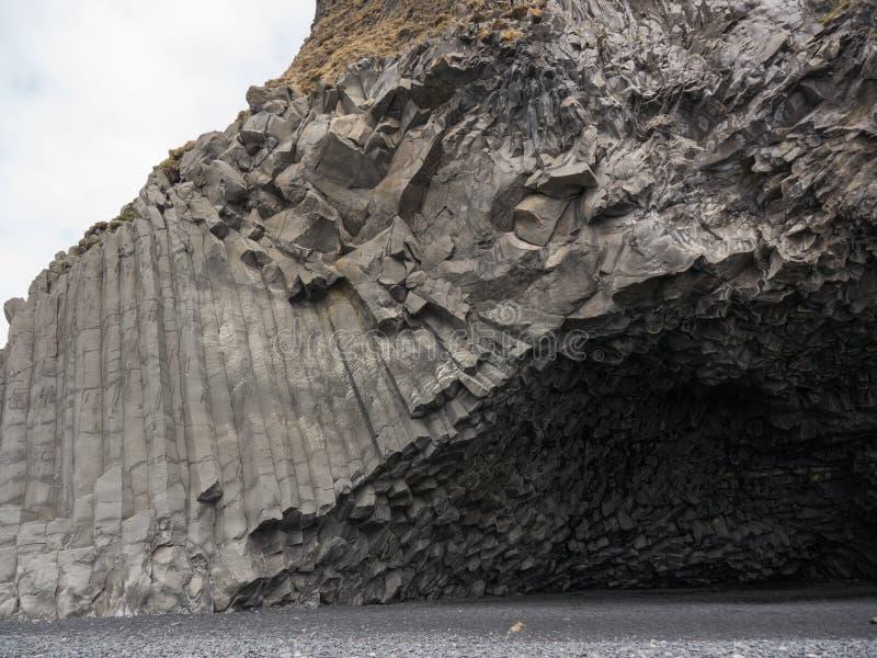 Colonnes 2 de basalte images libres de droits