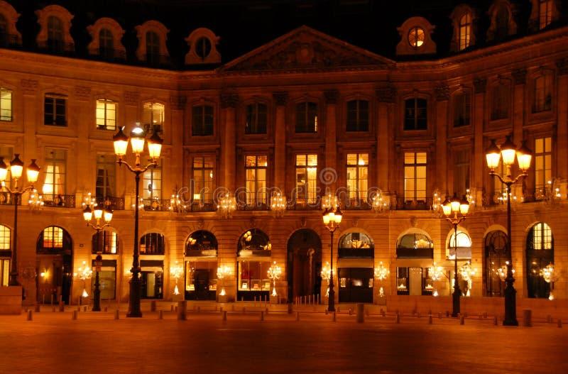 Coloque Vendome, París foto de archivo libre de regalías