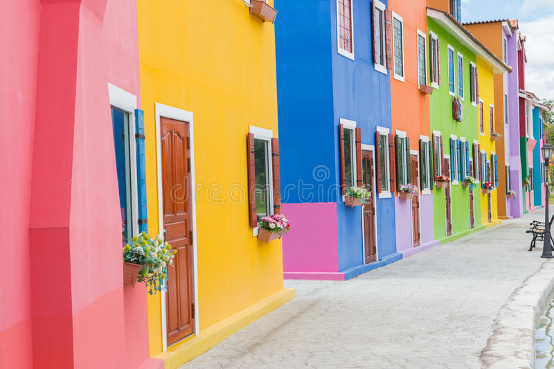 Download Coloré image stock. Image du architecture, historique - 45353913