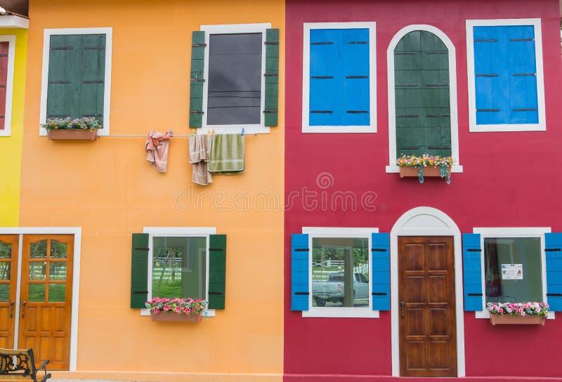 Download Coloré image stock. Image du île, résidentiel, touriste - 45354163