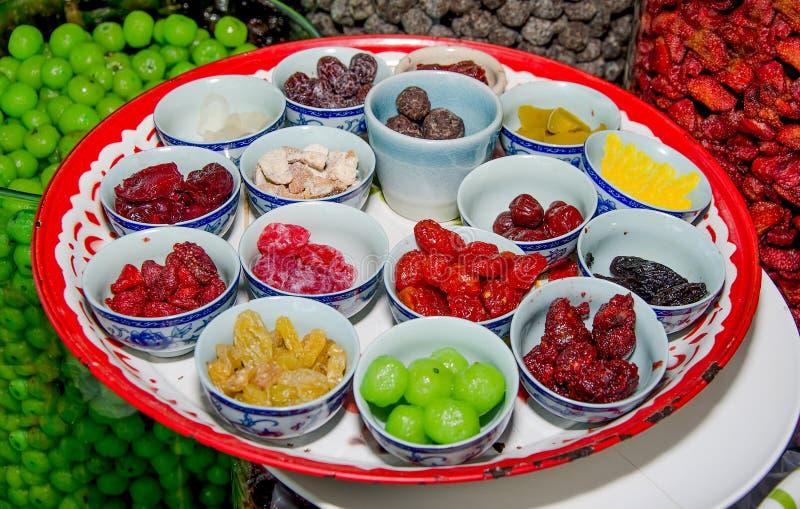 Coloré des fruits secs photographie stock libre de droits