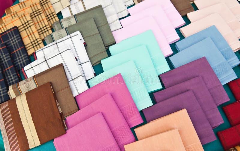 Coloré du mouchoir photos libres de droits