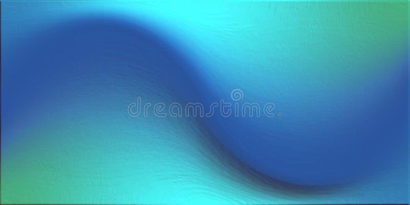 Coloré, ombragé et allumé avec le fond d'image d'effet de 3 d et la conception générés par ordinateur de wallapaper illustration stock