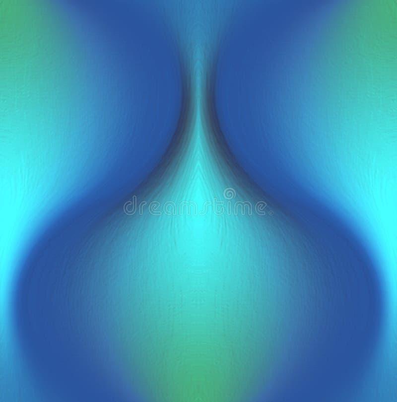 Coloré, ombragé et allumé avec le fond d'image d'effet de 3 d et la conception générés par ordinateur de wallapaper illustration libre de droits