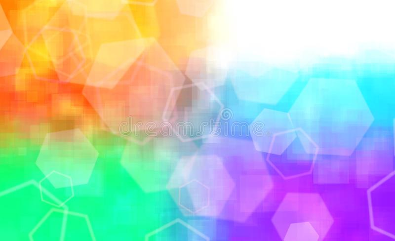 Color abstract background stock image