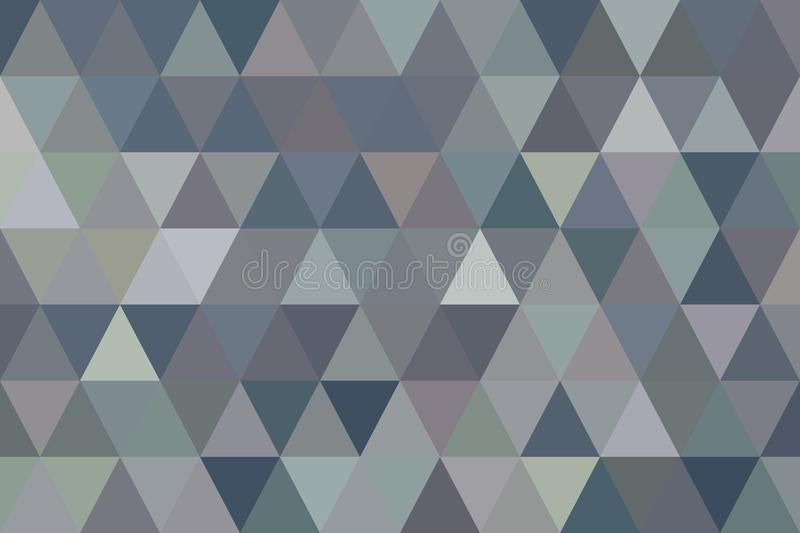 Color abstract triangle strip geometric pattern generative art background. Wallpaper, repeat, concept & digital. Color abstract triangle strip geometric pattern stock illustration