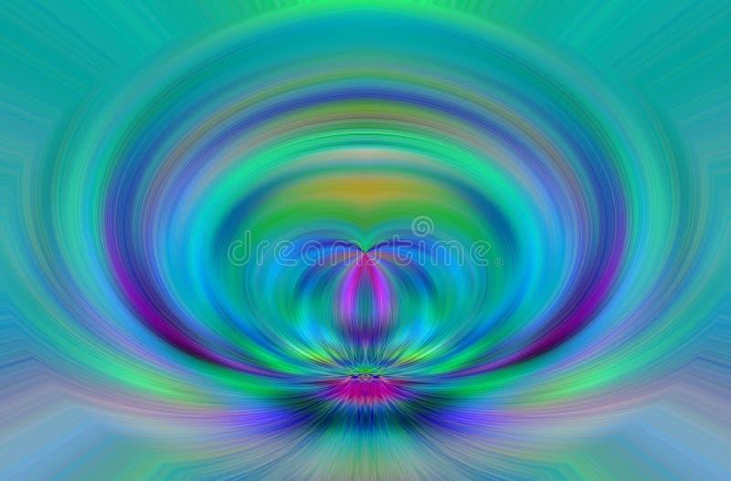 Color abstracto stock de ilustración