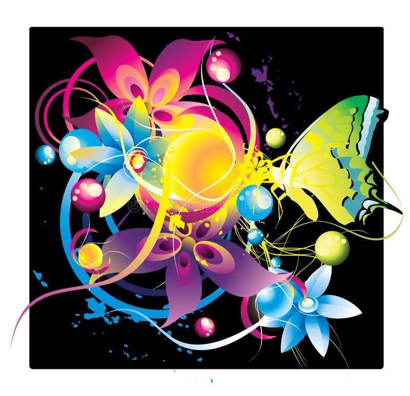 Color abstracto libre illustration