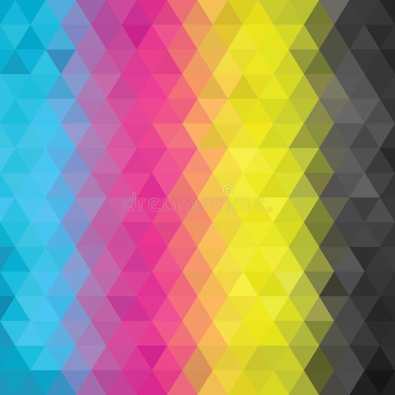 Color abstracto de CMYK libre illustration