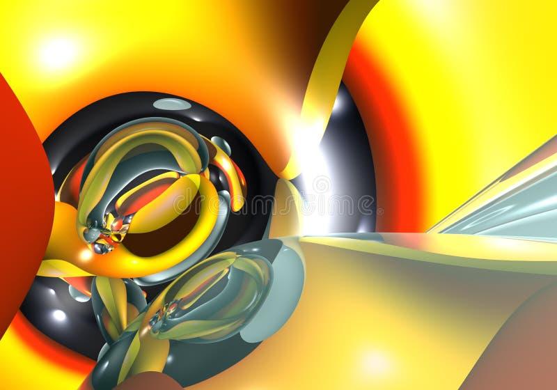 Color&form abstrait illustration libre de droits